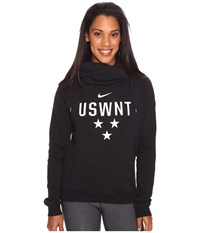 Nike Usa Soccer Funnel Hoodie Black White Women's Sweatshirt