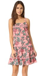 For Love And Lemons Rosali Tank Dress Mauve Floral