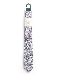 Racing Green Vow Blossom Print Tie And Hankie Set Grey