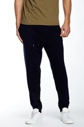 Vince Lux Wool And Cashmere Blend Sweatpant Blue