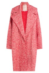 Roksanda Ilincic Roksanda Oversized Heathered Coat Red