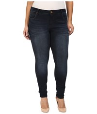 Kut From The Kloth Plus Size Diana Skinny Jeans In Brisk Brisk Women's Jeans Blue