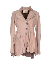 Le Cuir Perdu Coats And Jackets Jackets Women Light Brown