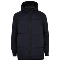 River Island Mens Navy Padded Casual Winter Coat