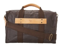 Will Leather Goods Wax Canvas Duffle Brown Duffel Bags