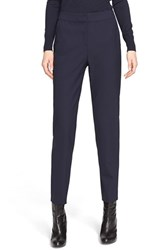 Women's St. John Collection 'Emma' Tropical Wool Crop Pants