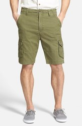 Men's Big And Tall Rodd And Gunn 'Flax Bay' Cargo Shorts Olive