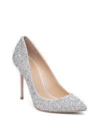 Imagine Vince Camuto Olson Embellished Pointed Toe Pumps Crystal Silver