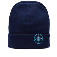 Raf Simons Patch Beanie Blue