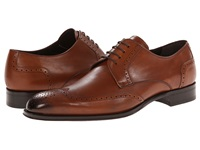 Mezlan Bosch Tan Men's Lace Up Wing Tip Shoes