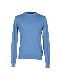 Karl Lagerfeld Lagerfeld Knitwear Jumpers Men Azure