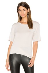 David Lerner Knotted Tee Gray