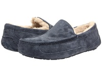 Ugg Ascot New Navy New Navy Suede Men's Slippers