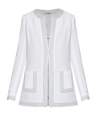Edun Embroidered Trim Cady Jacket