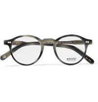 Moscot Miltzen Round Frame Acetate Optical Glasses Gray