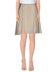 Tonello Skirts Knee Length Skirts Women Beige