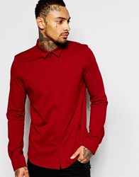 Religion Exclusive Jersey Shirt Red