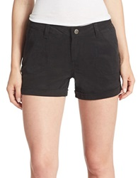 William Rast Solid Shorts Black