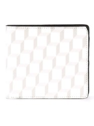 Pierre Hardy 'Cube Perspective' Wallet White