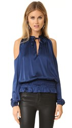 Ramy Brook Jamie Blouse Navy