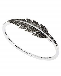 Stephen Webster Magnipheasant Black Diamond Bracelet In 18K White Gold