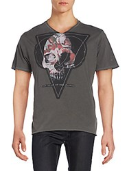 Cult Of Individuality Death The Flower Graphic Tee Grey