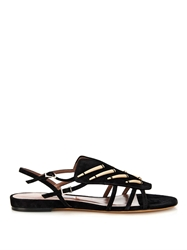 Tabitha Simmons Thistle Suede Sandals