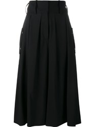 J.W.Anderson Pleat Front Culottes Black