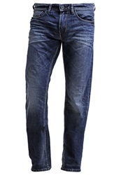 Tom Tailor Denim Atwood Straight Leg Jeans Dark Stone Wash Stone Blue