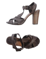 Pantanetti Sandals Steel Grey
