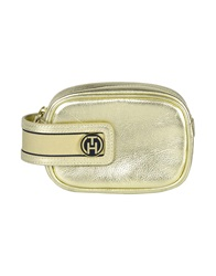 Tommy Hilfiger Beauty Cases Gold