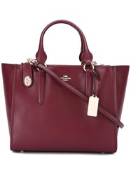 Coach 'Crosby Carryall' Tote Red