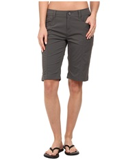 Royal Robbins Discovery Bermuda Charcoal Women's Shorts Gray