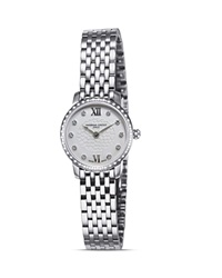 Frederique Constant Stainless Steel Slim Line Quartz Watch With Diamonds 25Mm