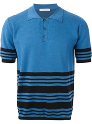 J.W.Anderson J.W. Anderson Striped Polo Shirt