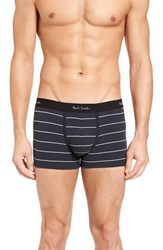 Paul Smith Men's Square Cut Trunks Navy