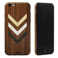Toast Real Wood Iphone 6 Inlay Cover Multi