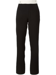 See By Chloe High Waisted Trousers Black