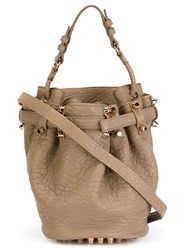 Alexander Wang 'Diego' Bucket Crossbody Bag Brown