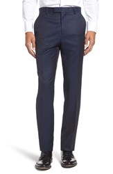Ted Baker Men's London 'Pashion' Flat Front Wool And Mohair Trousers