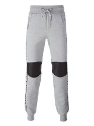 Philipp Plein 'Plein Hero' Track Pants Grey