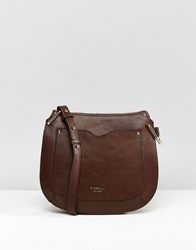 Fiorelli Boston Large Saddle Bag Boston Coffee Bean Brown