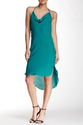 Haute Hippie The New Scarface Silk Dress Green