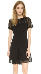 Marc By Marc Jacobs Marquee Silk Dress Black
