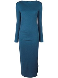 By Malene Birger Fitted Dress Blue