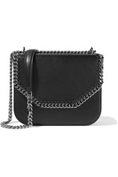 Stella Mccartney The Falabella Box Faux Leather Shoulder Bag Black