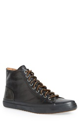 Frye 'Grand' High Lace Sneaker Men Black