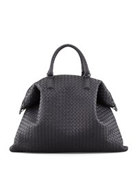 Bottega Veneta Convertible Veneta Tote Bag Black