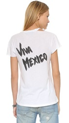 Beach Riot Viva Mexico Ripped Tee Creme