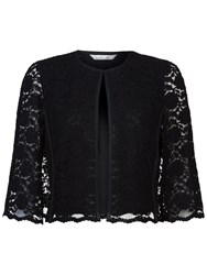Damsel In A Dress Vesper Lace Cape Black